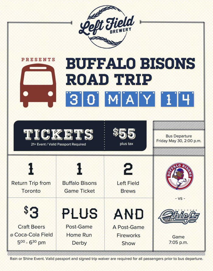 Bisons Road Trip Poster