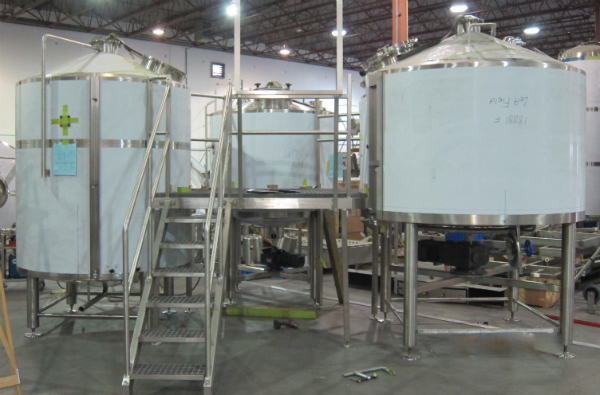 A brewhouse with our name on it!